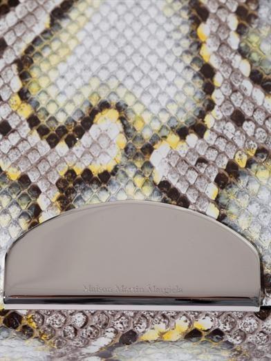 Maison Martin Margiela Python cross-body bag