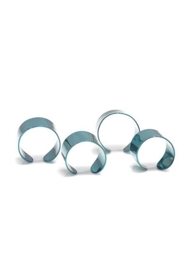 Maison Martin Margiela Four knuckleduster rings