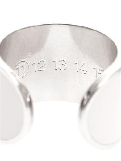 Maison Martin Margiela Set of four knuckleduster rings