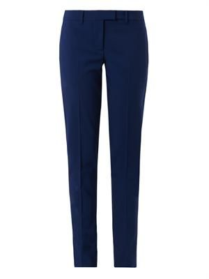 Tailored stretch-wool trousers
