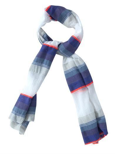 Lemlem Bezez gauze scarf