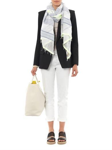 Lemlem Samara gauze scarf