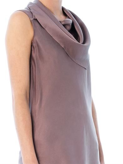Les Chiffoniers Bandana neck-tie silk top