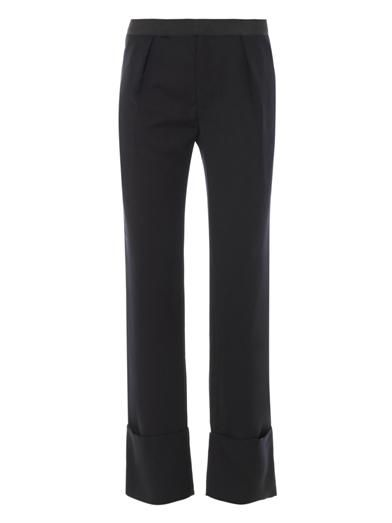 Les Chiffoniers Wide leg tailored trousers