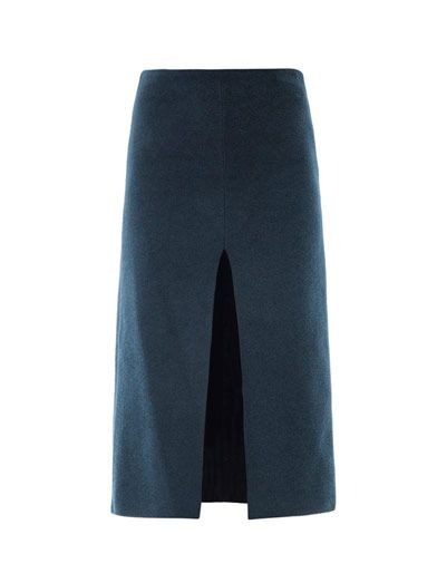 Lucas Nascimento Chenille pencil skirt