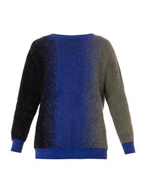 Tri-colour sweater