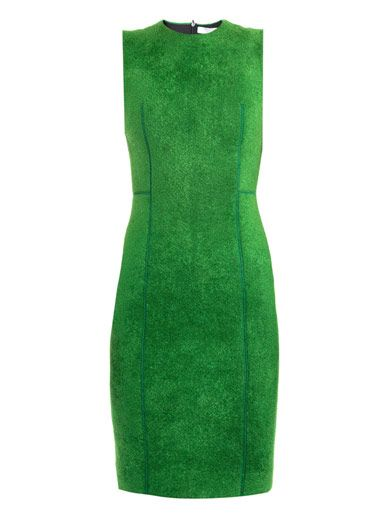 Lucas Nascimento Chenille bodice knit dress