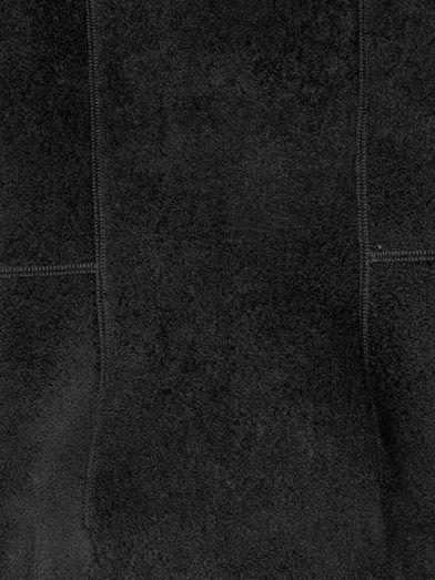 Lucas Nascimento Chenille bodice knit dress