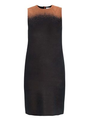 Ombré jacquard dress