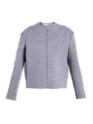 Cylindro honeycomb weave jacket