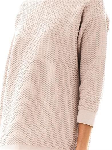 Lucas Nascimento Mesh jacquard sweatshirt