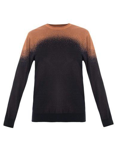 Lucas Nascimento Ombré jacquard sweater