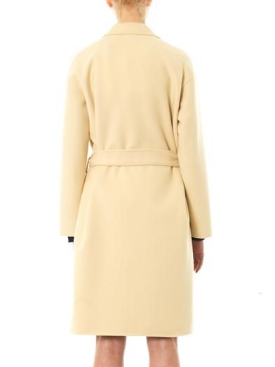 Bottega Veneta Double-faced cashmere coat