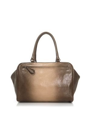 Brera double handle leather tote