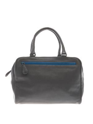 Brera double-handle leather tote