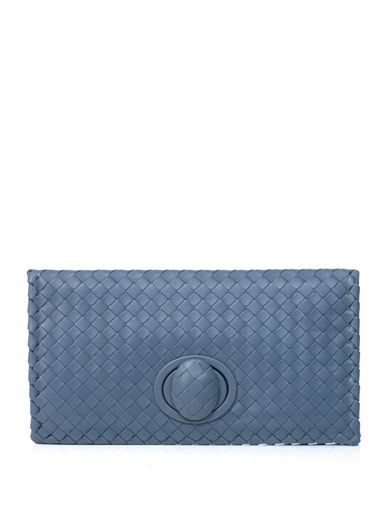 Bottega Veneta Intrecciato East West clutch