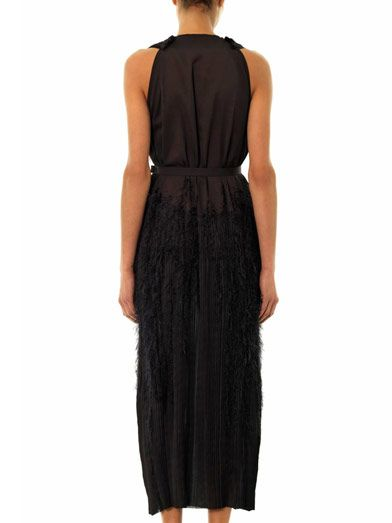 Bottega Veneta Japanese-pleat dress
