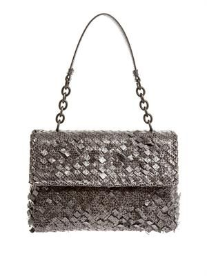 Olimpia ayers-snakeskin shoulder bag