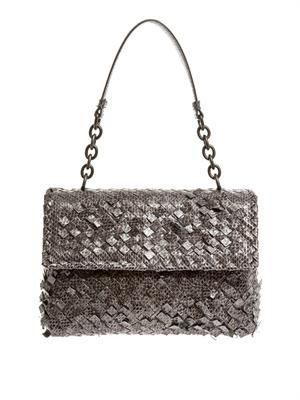 Olimpia ayers-snakeskin shoulder bag