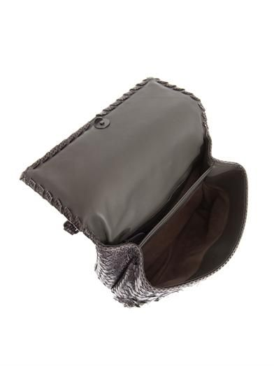 Bottega Veneta Olimpia ayers-snakeskin shoulder bag