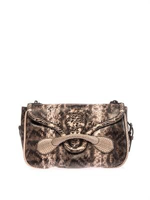 Rialto snakeskin shoulder bag