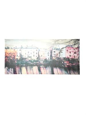Hampstead Wonderland-print scarf