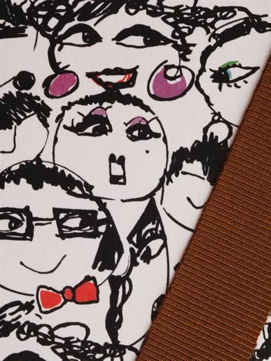 Lanvin Alber Elbaz faces notebook