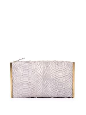 Private soft python clutch