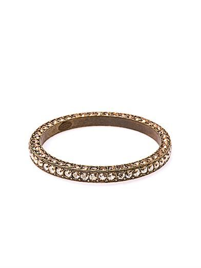 Lanvin Babylon crystal-embellished bangle