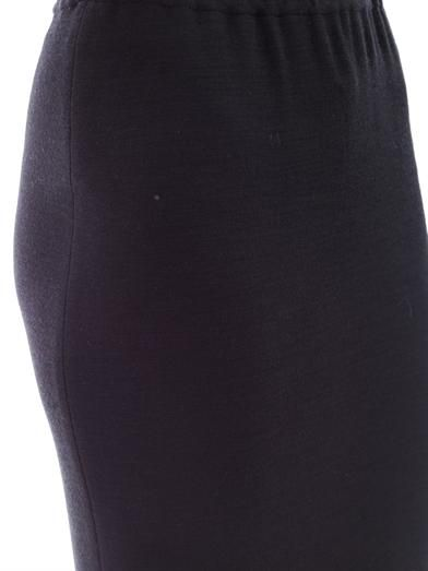 Lanvin Full-length wool skirt