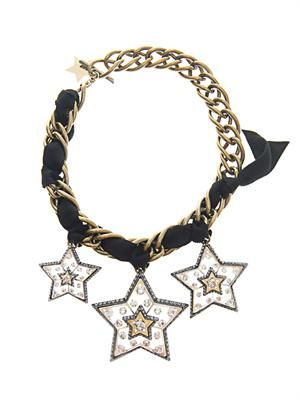 Altair three star necklace