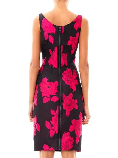 Lanvin Rose cloqué dress