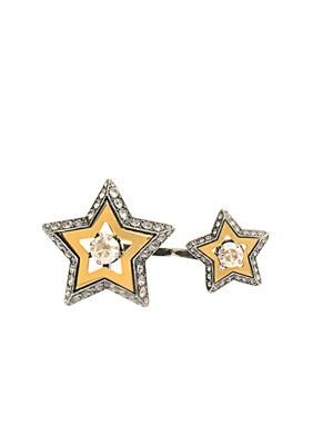 Altair star two-finger ring