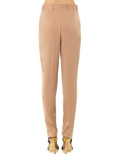 Lanvin Tailored crepe trousers
