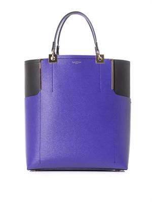 Partition bi-colour tote