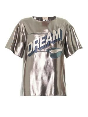 Dream metallic T-shirt