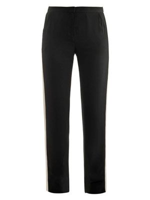 Relaxed tux trousers