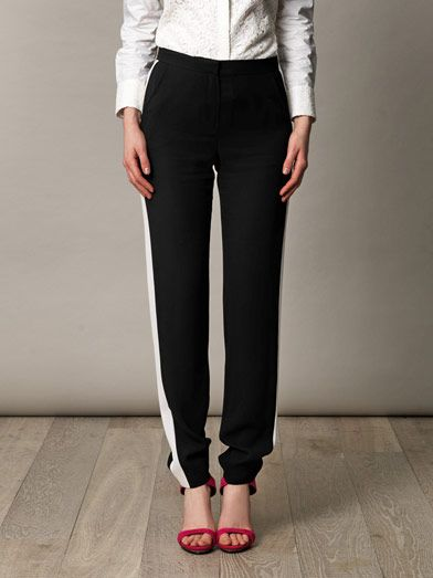 Lanvin Relaxed tux trousers