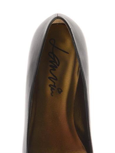 Lanvin Bow-detail leather flats