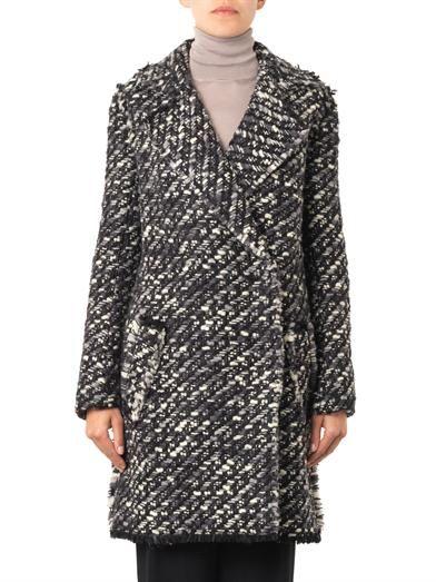 Lanvin Bouclé double-breasted coat