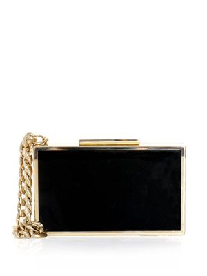 Bi-colour cigarette case box clutch