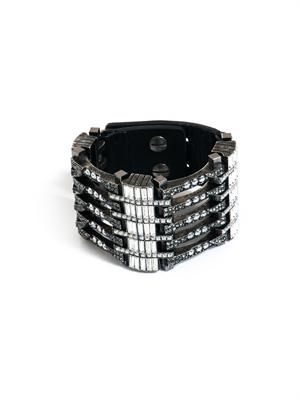 Art-Deco crystal bracelet