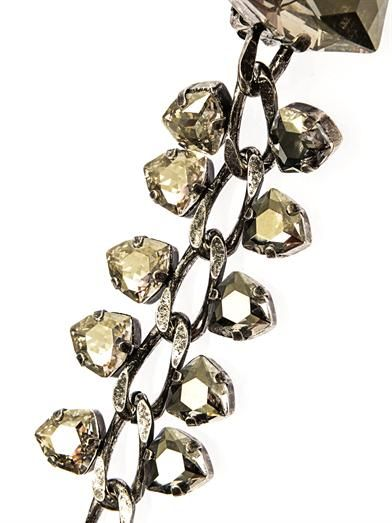 Lanvin Laura crystal drop earrings