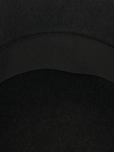 Lanvin Rabbit fur-felt capeline hat