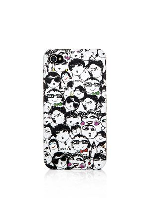 Faces-print  iPhone®  case
