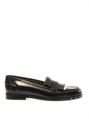 Boyish leather loafers