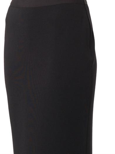 Lanvin Full-length wool-knit skirt
