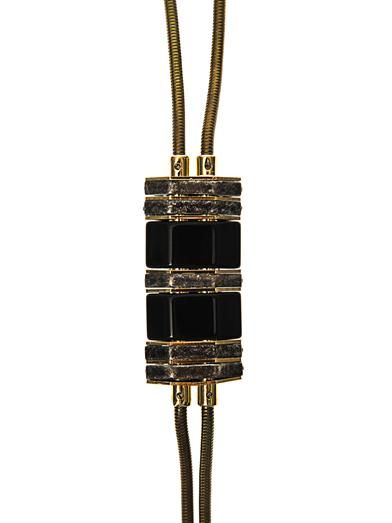 Lanvin Neck-tie pendant necklace
