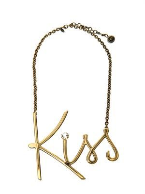 Iconic Kiss necklace