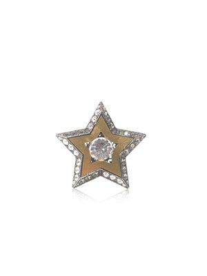 Crystal star ring